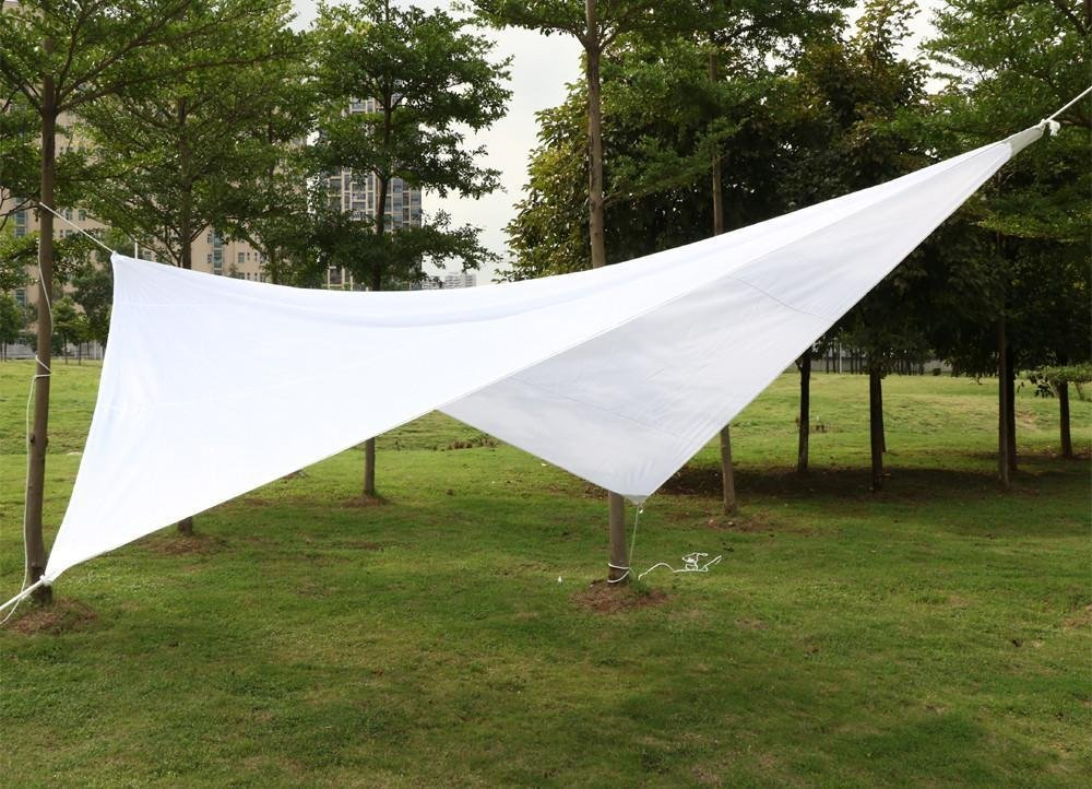 Tenda A Vela Quadrata : Yahee m vela parasole impermeabile protezione uv solare quadrata