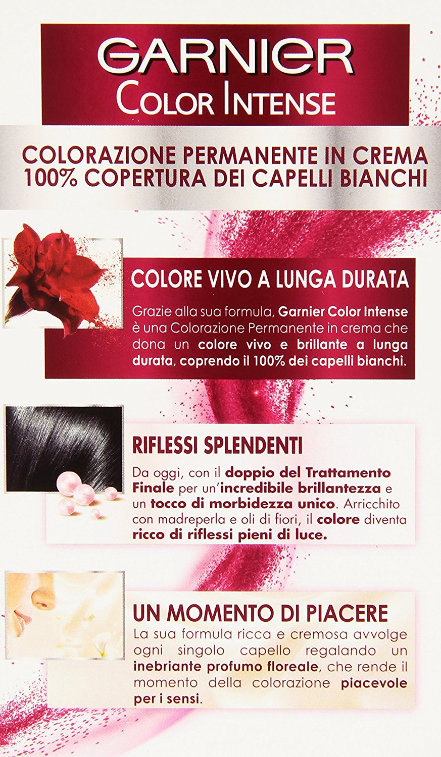 Garnier Garnier Color Intense Colorazione Permanente in Crema ... 83bd837d4a94
