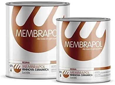 Membrapol Rinnova Ceramica Smalto Per I Sanitari In Ceramica E Per Le Piastrelle Bianco Lucido Ernesto Shop